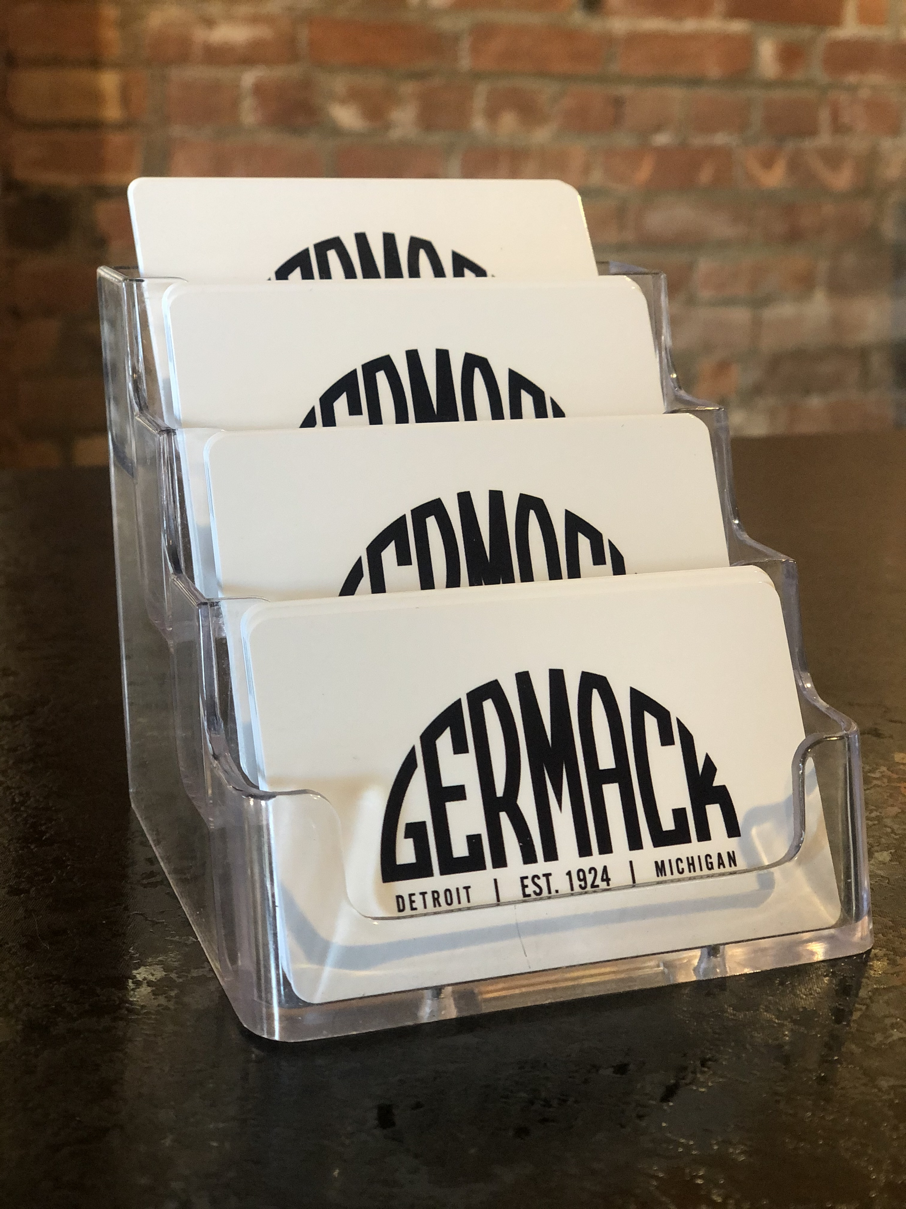 Picture Germack Gift Card - $100