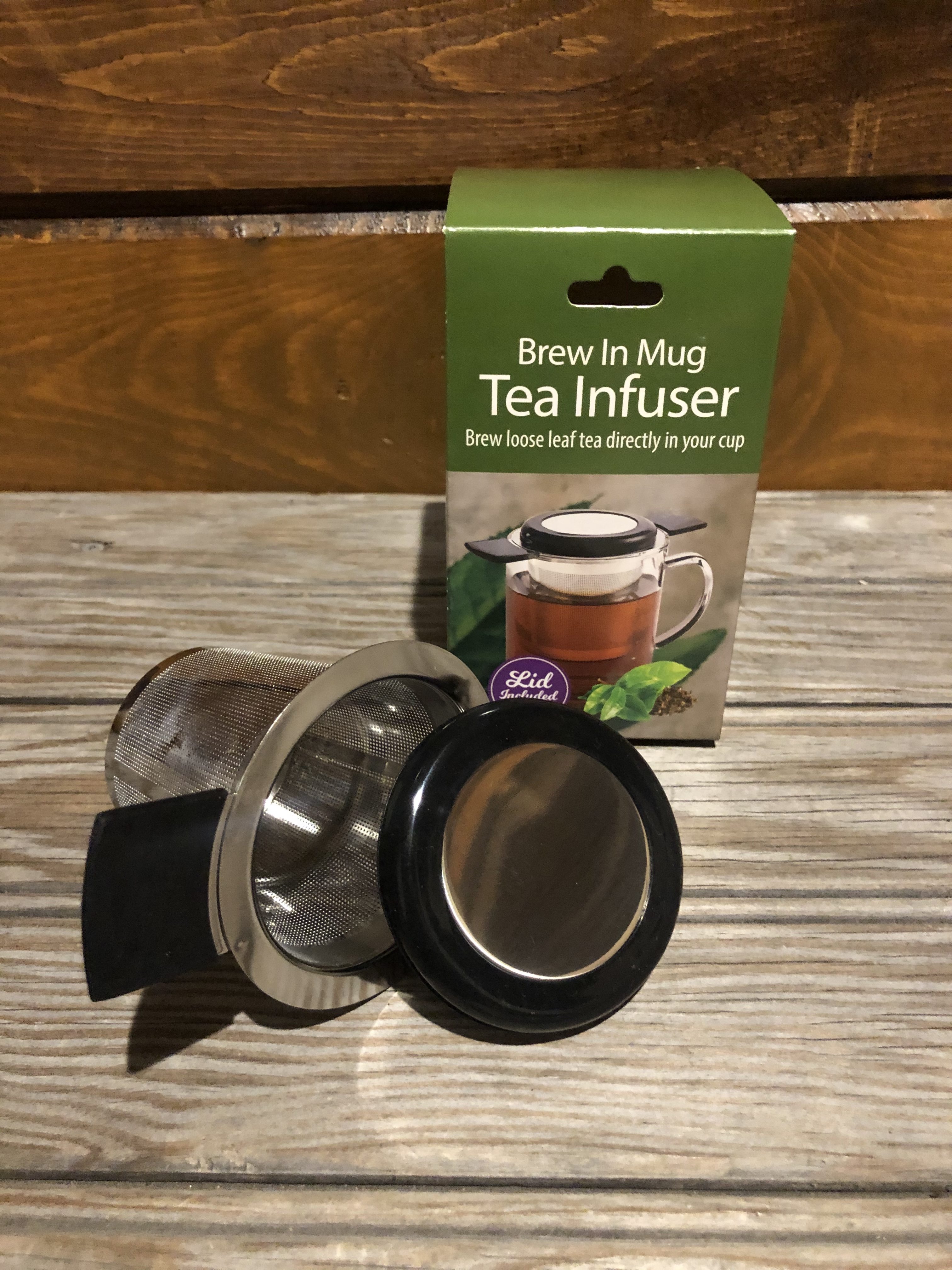 Picture Tea Infuser Brew In Mug