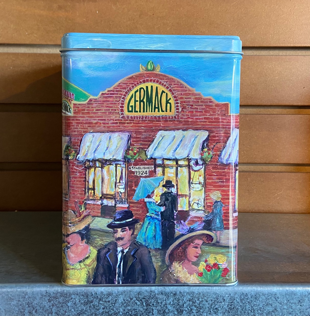 Picture Germack Collectible Tin