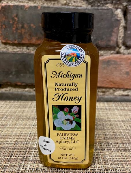 Picture Honey Natural (Michigan)12oz
