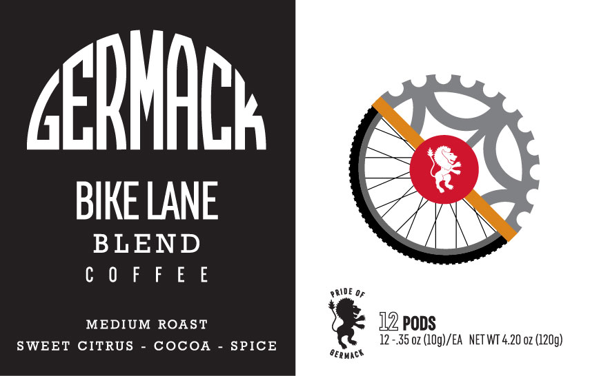 Picture Germack Coffee Bike Lane K-Pods - 12 pack