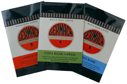 Picture Germack Coffee Coffee Packets - 3 oz. each| Coffee Blend| Holiday Blend