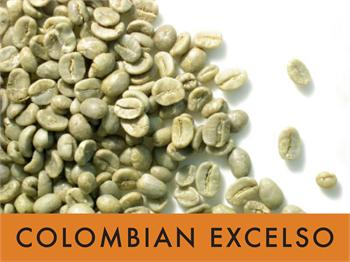 Picture Colombian Excelso - 1 lb. Green Coffee Beans