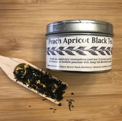 Picture Tea - Peach Apricot Black - (2 oz.)