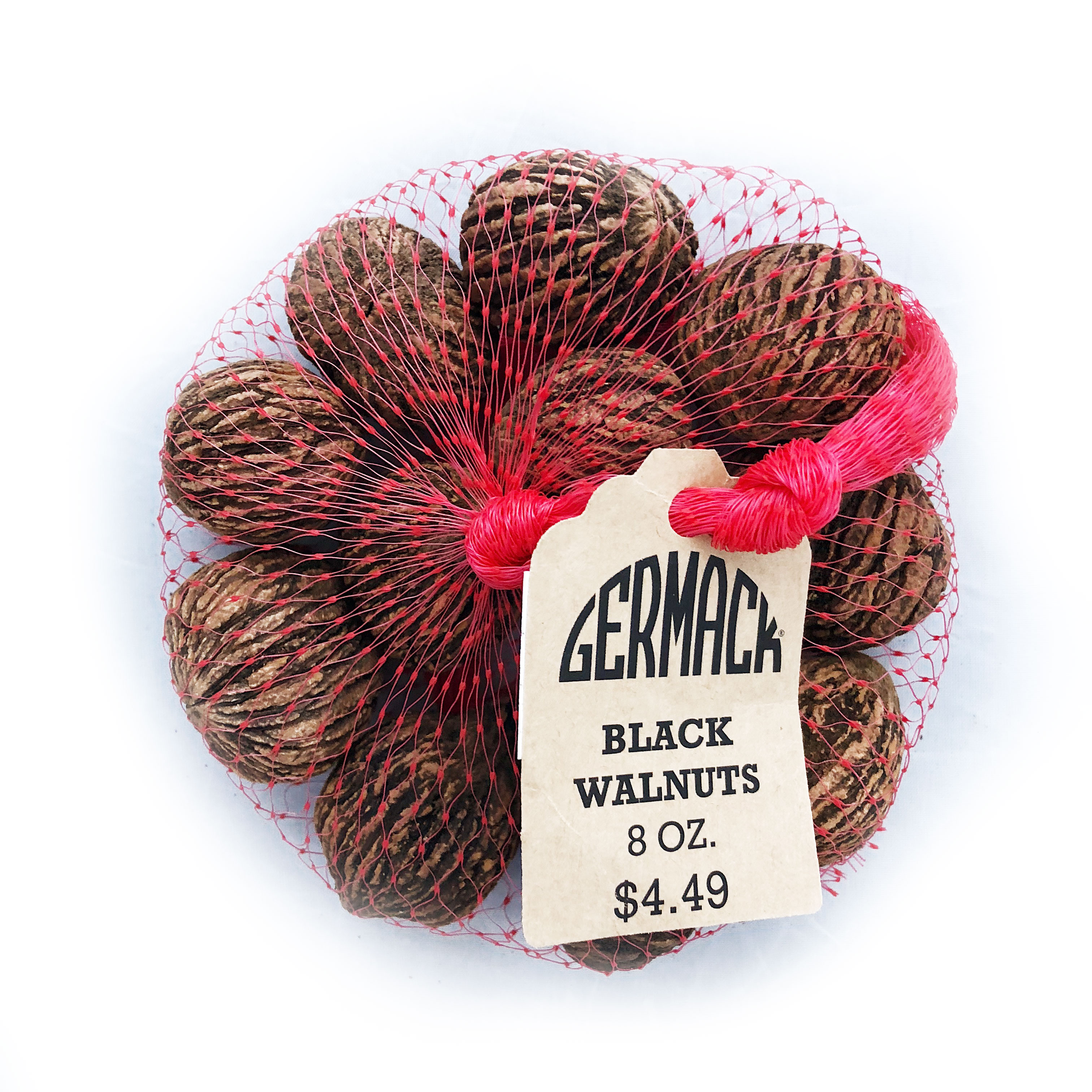 Picture Black Walnuts In-Shell - 8 oz.