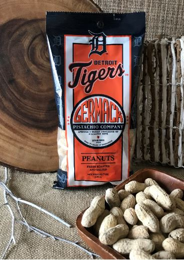 Picture Peanuts Tigers- Salted In-Shell  C36