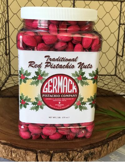 Picture Pistachios - Traditional Red - 32 oz. Jar