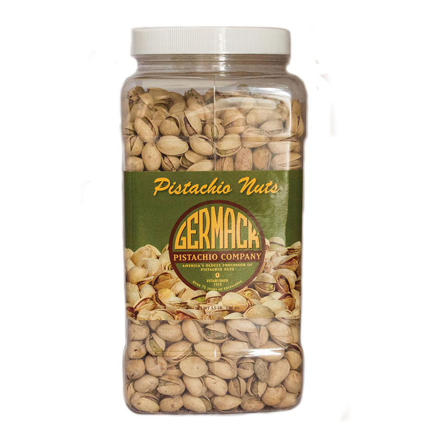 Picture Pistachios - Roasted, Salted 3.5 lb  Jar