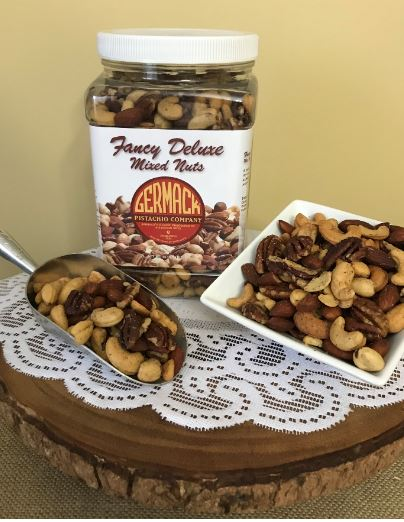 Picture Mixed Nuts - Roasted, Salted   36 oz  Jar  C6
