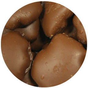 Picture  Holiday Chocolate Caramel Pecan Clusters  16 oz.