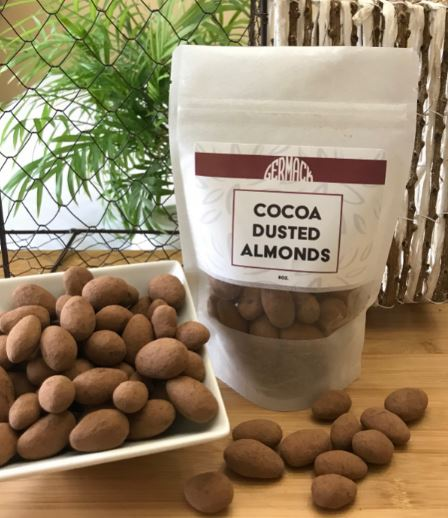 Picture Cocoa Dusted Almonds - 8 oz.