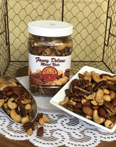 Picture Mixed Nuts - Roasted, Salted, 16 oz  Jar. C12