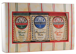 Picture Variety Pack Gift Box - Red and Green Stripe