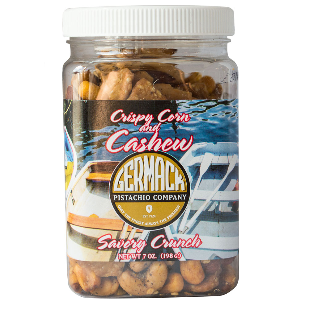 Picture Crispy Corn and Cashew Savory Crunch - 7oz. Jar