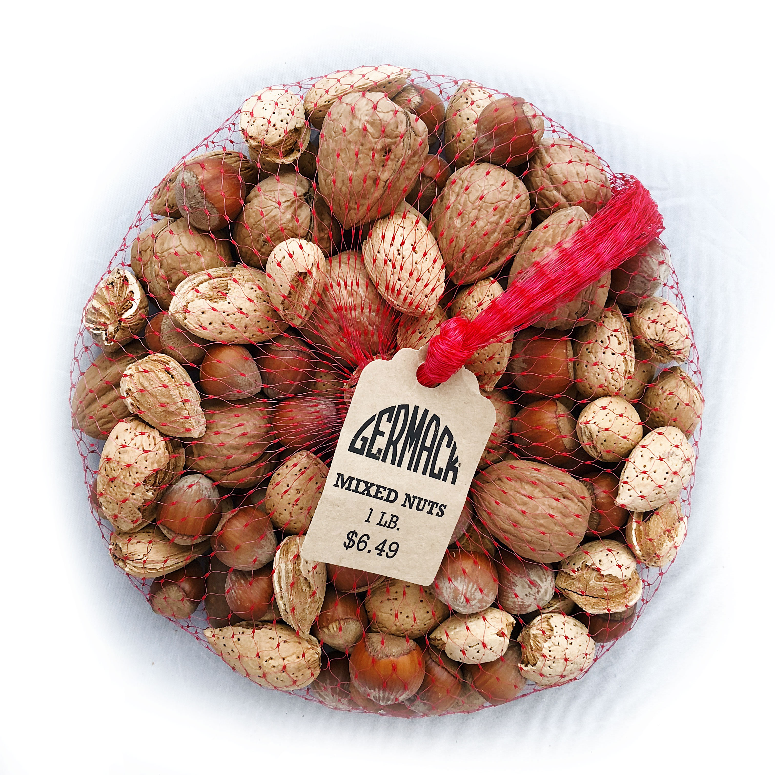 Picture Mixed Nuts In-Shell - 16 oz.