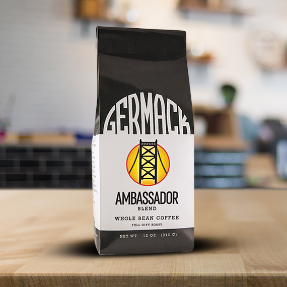 Picture Germack Coffee Blend (12 oz.) - Ambassador  (C8)