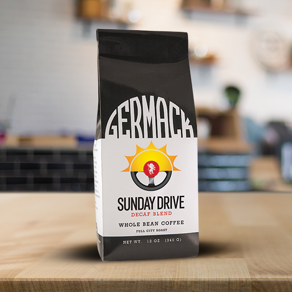 Picture Germack Coffee Sunday Drive Decaf Blend - 12oz  C8