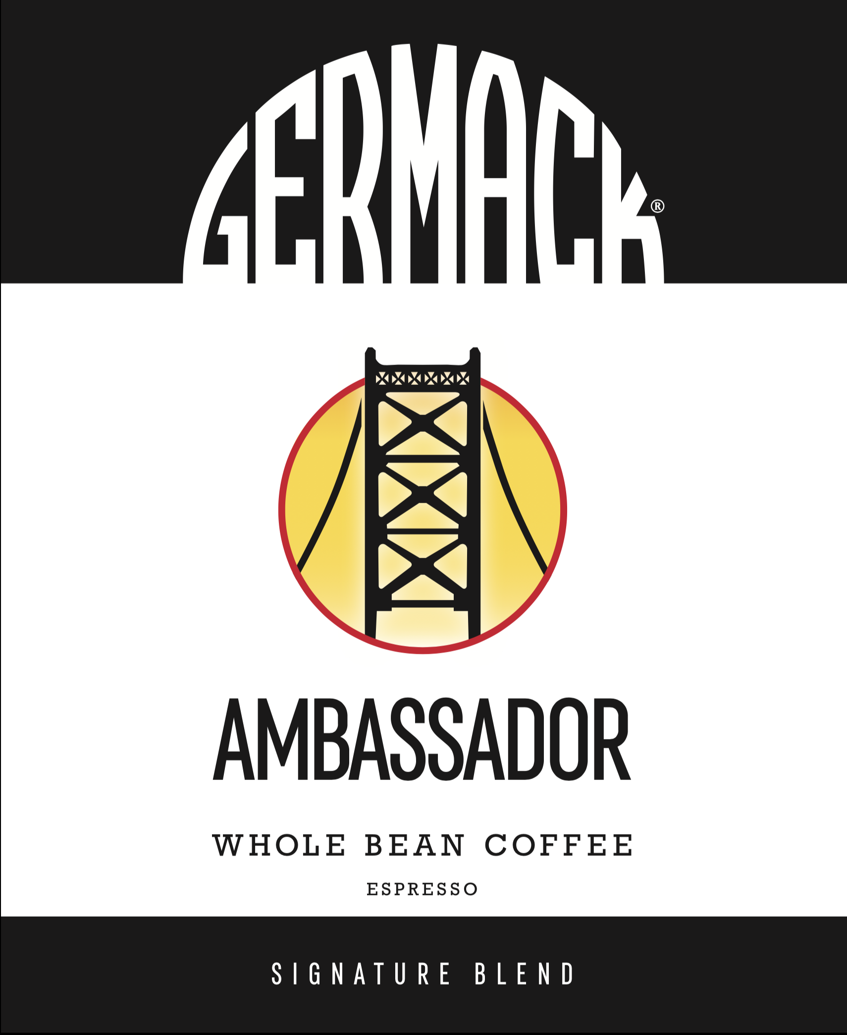Picture Germack Coffee Blend (5 LB.) - Ambassador Espresso