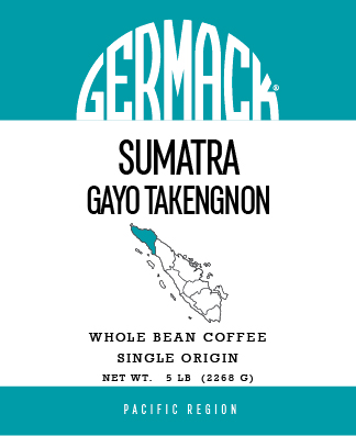 Picture Germack Coffee (5 LB.) - Sumatra Gayo Takengnon