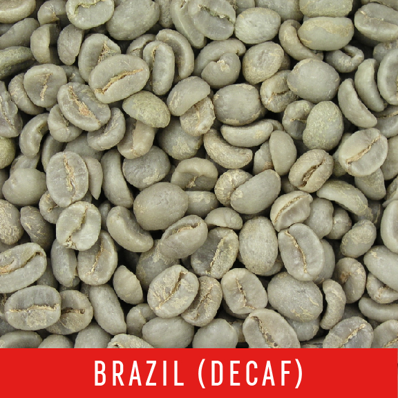 Picture Green Coffee Beans: Brazil (DECAF) - 1 LB