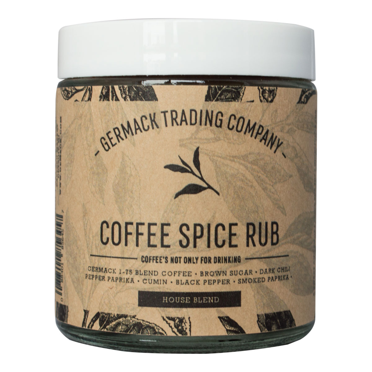 Picture Spice Jar - Coffee Spice Rub - (2 .5 oz.)