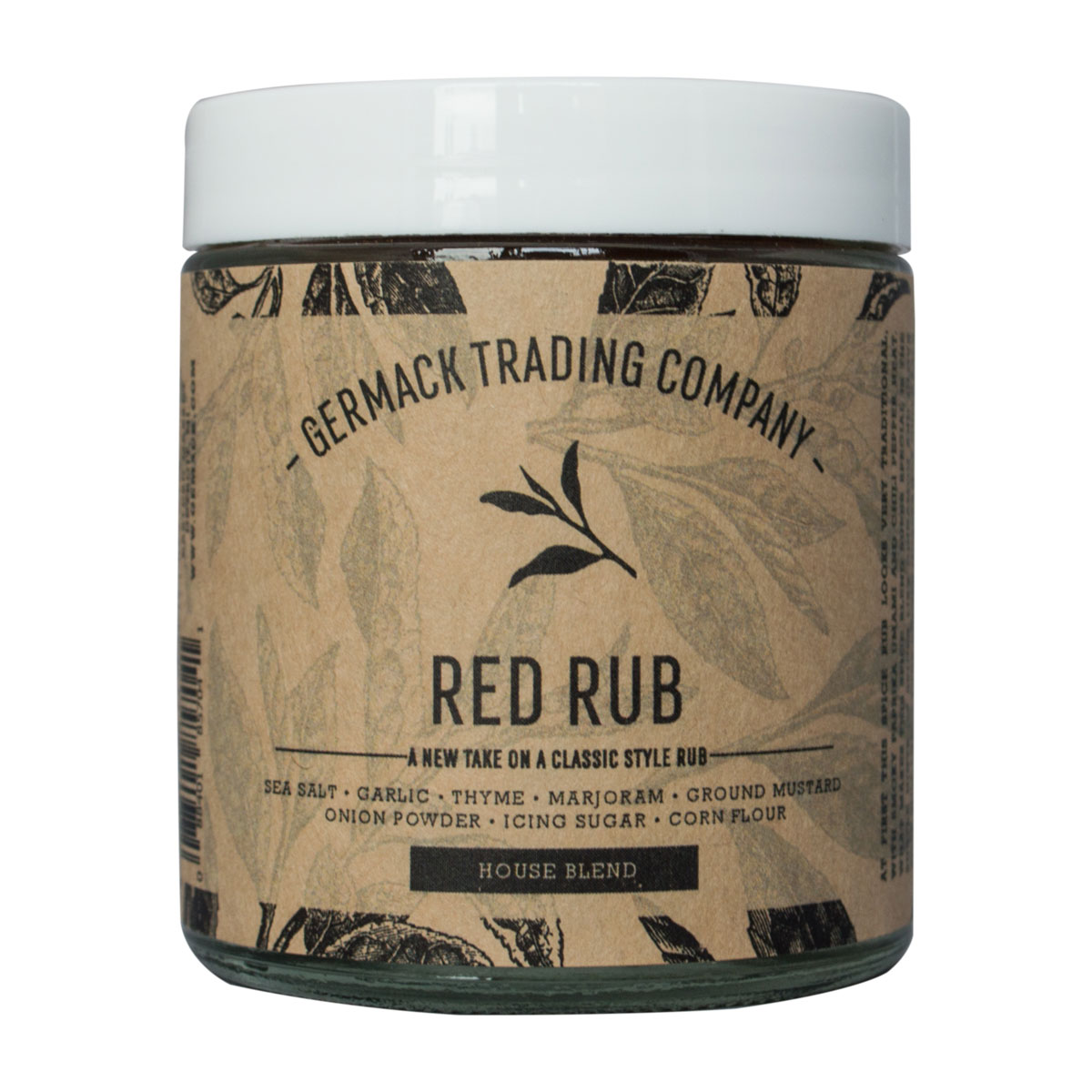 Picture Spice Jar - Red Rub - (2 oz.)