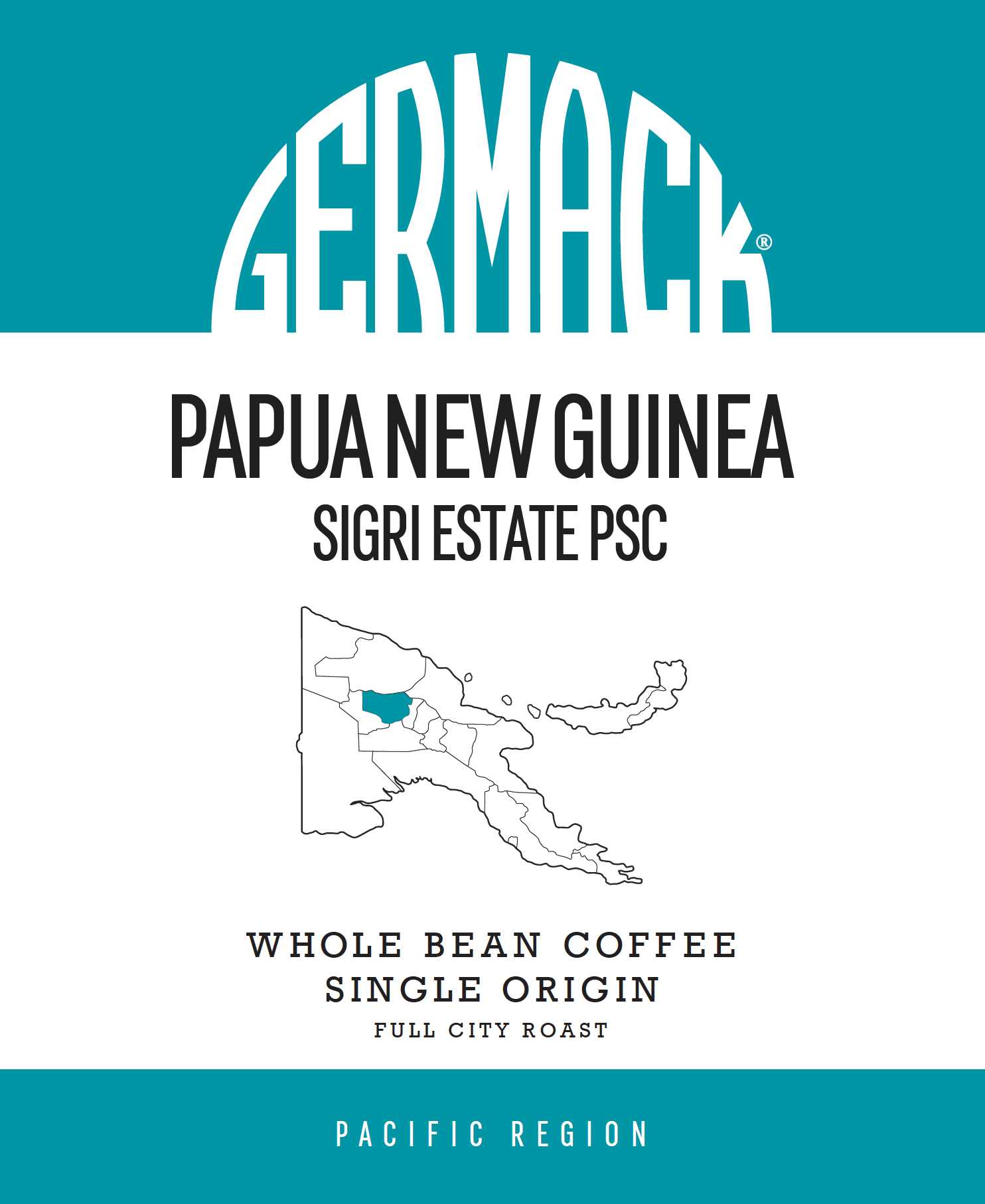 Picture Germack Coffee (5 LB.) - Papua New Guinea Sigri Estate PSC