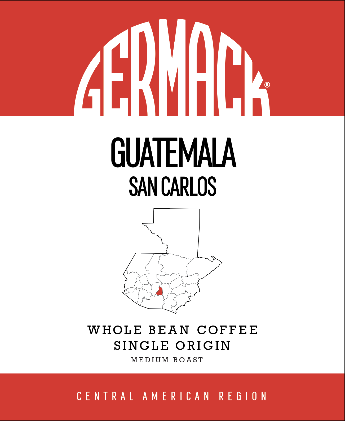 Picture Germack Coffee (5 LB.) - Guatemala San Carlos