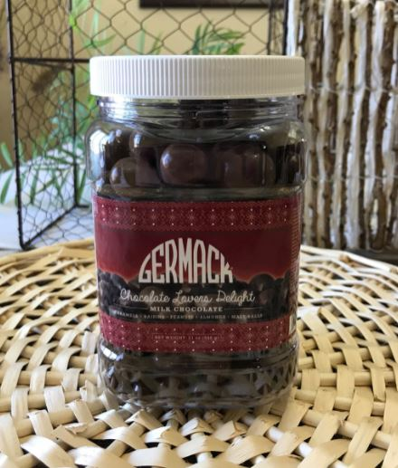Picture Chocolate Lovers Delight Jar 21oz 6C