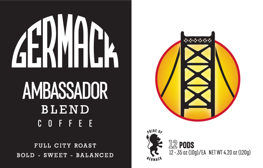 Picture Germack Coffee K-Pods - Ambassador - (12 pack)
