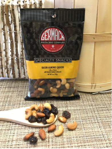Picture Cashew Almond Raisin Mix - 6 oz  C8