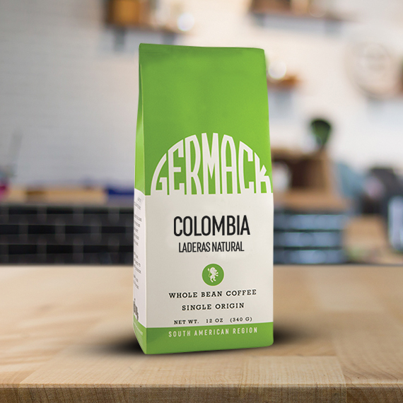 Picture Germack Coffee (12 oz.) - Colombia Laderas Natural