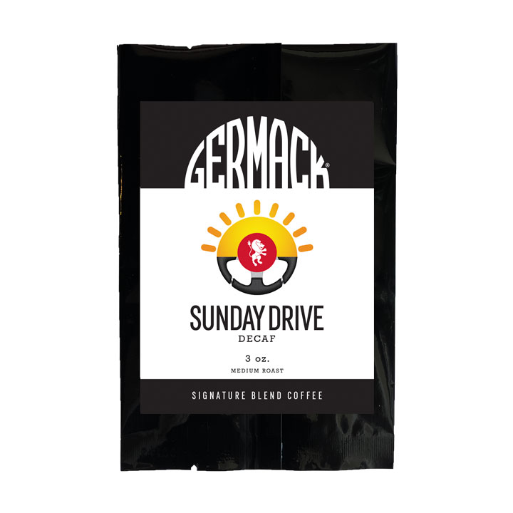 Picture Germack Coffee - Sunday Drive - (12 (3 oz.) Bags / Case)