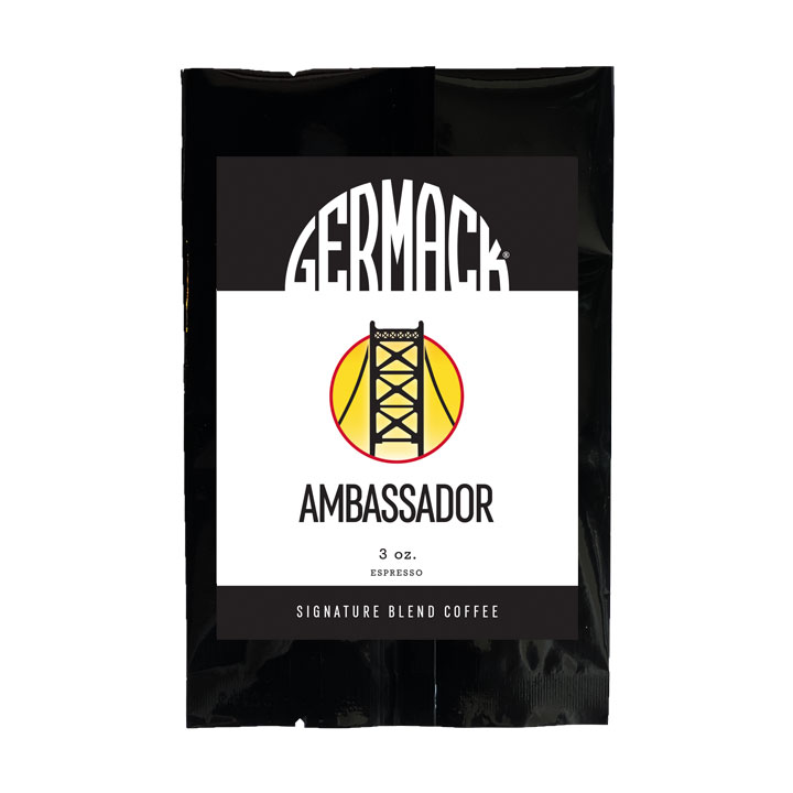 Picture Germack Coffee - Ambassador - (12 (3 oz.) Bags / Case)