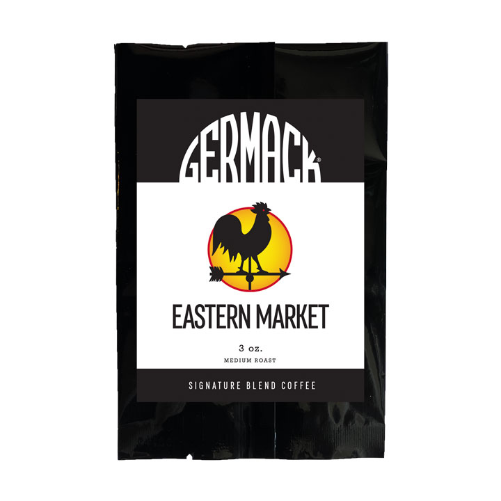 Picture Germack Coffee - Eastern Market - (12 (3 oz.) Bags / Case)