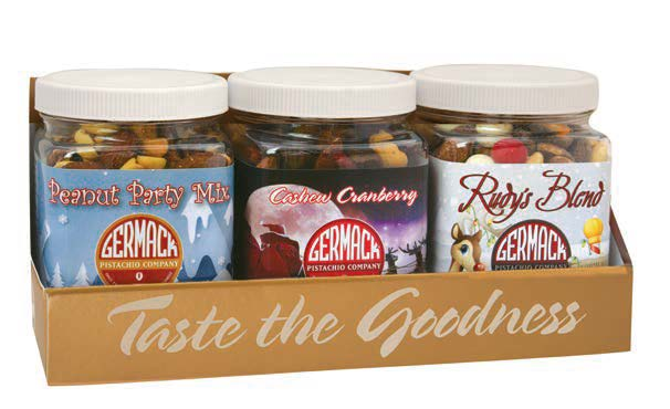 Picture Holiday Trio Mini Jars