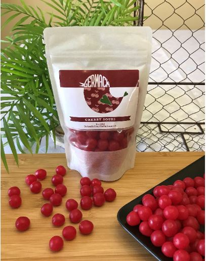 Picture Cherry Sours Balls - 12oz