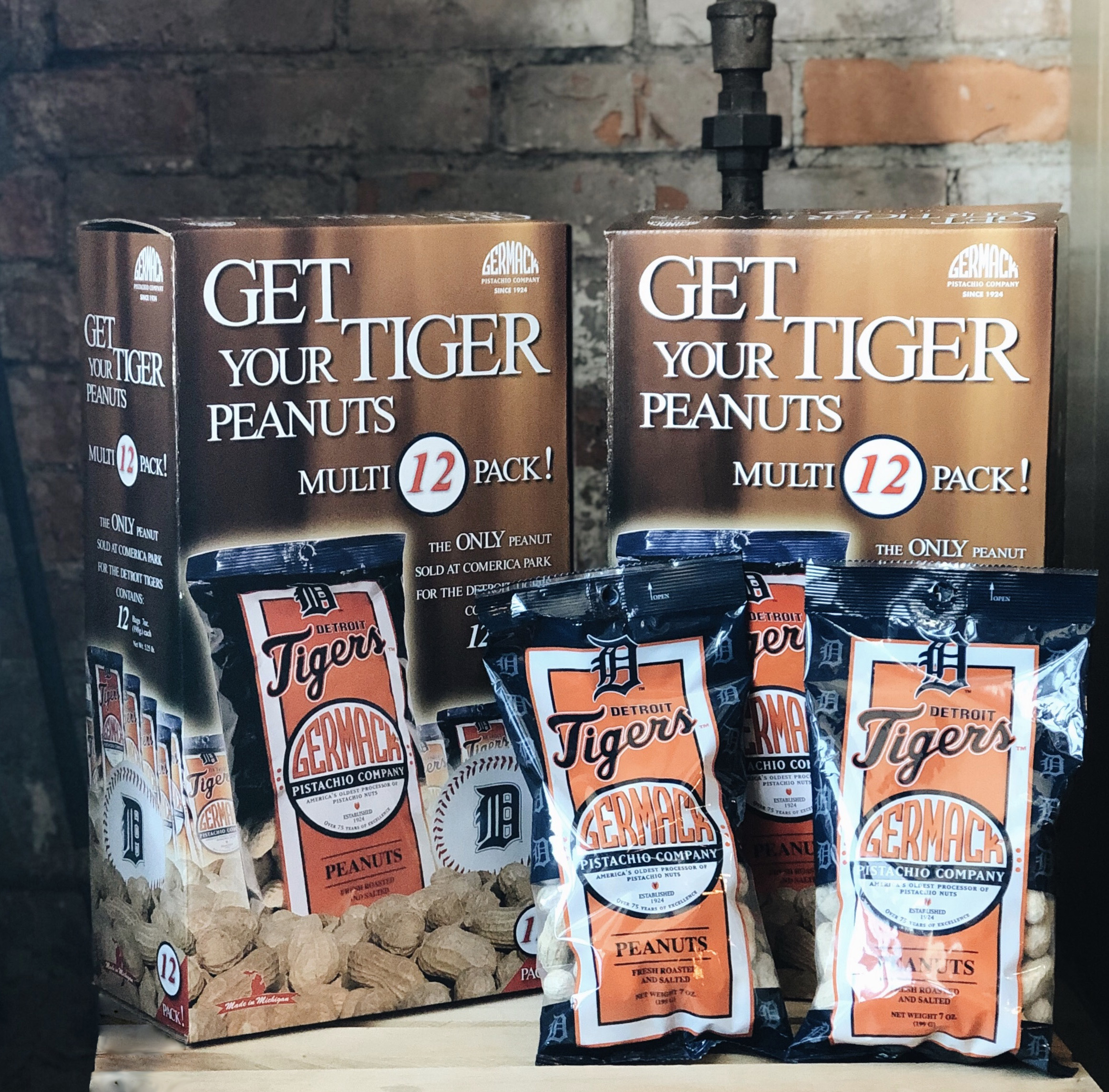 Picture Tiger Peanuts 12ct Box