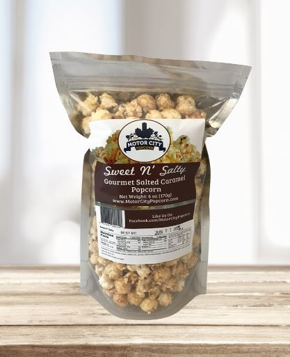 Picture Motor City Popcorn - Sweet N' Salty