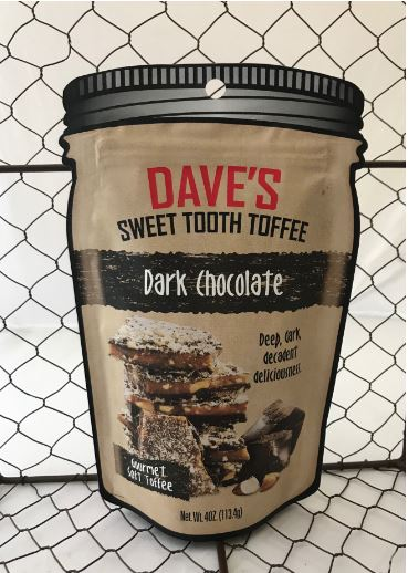 Picture Dave's Sweet Tooth Toffee - Dark Chocolate