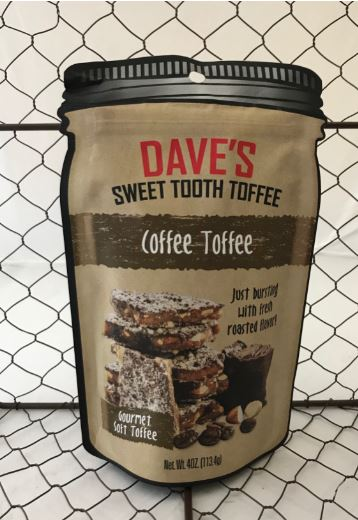 Picture Dave's Sweet Tooth Toffee - Coffee Toffee
