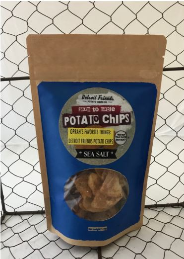 Picture Detroit Friends Potato Chips - Sea Salt