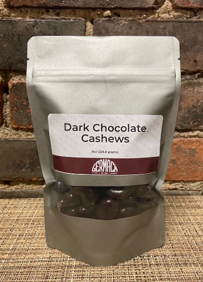 Picture Dark Chocolate Cashews 8oz
