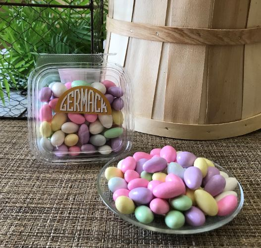 Picture Jordan Almonds 10 oz tub