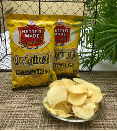 Picture Potato Chips Better Made (2 - 1oz bags)
