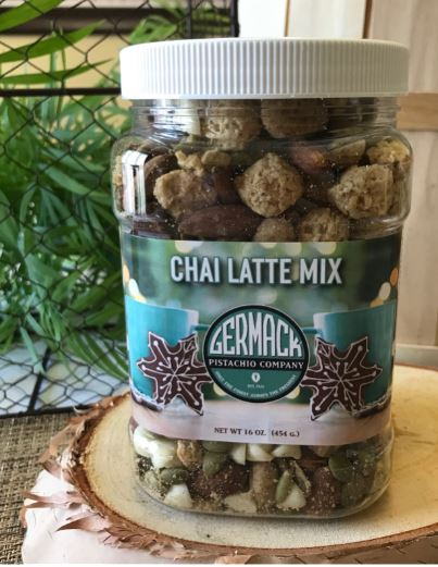 Picture Chai Latte Mix 16oz Jar