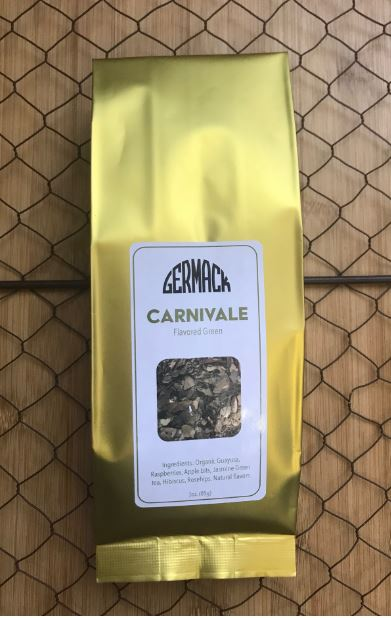 Picture Tea - Flavored Green Tea - Carnivale - 3oz