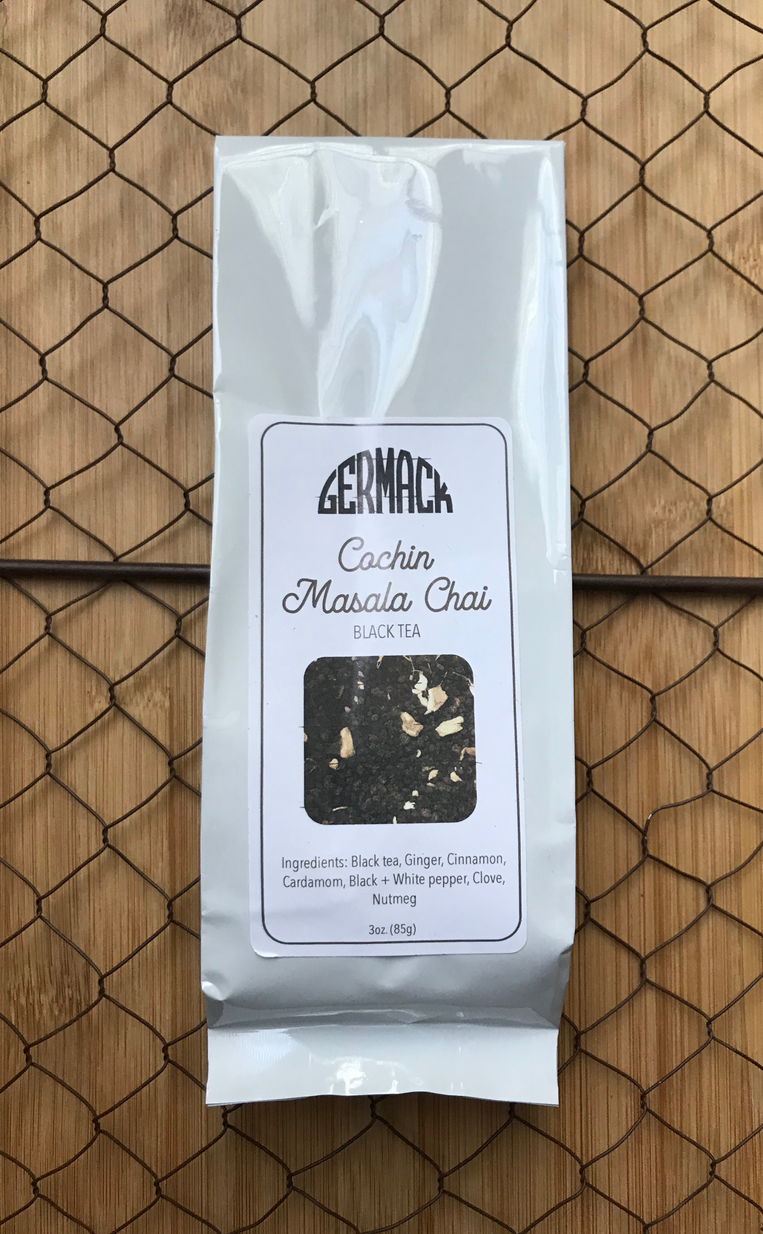 Picture Tea - Black Tea - Cochin Masala Chai - 3oz