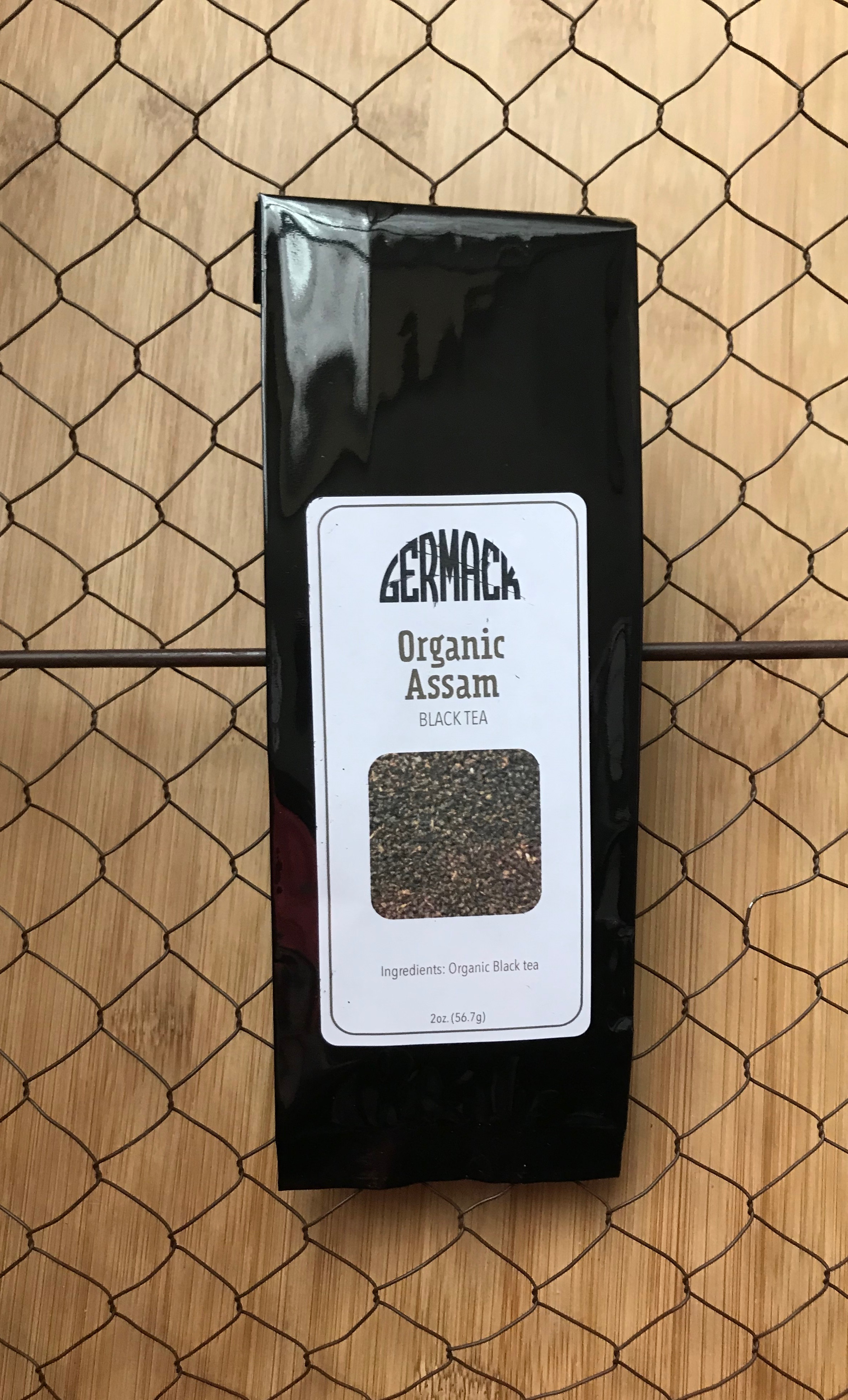 Picture Tea - Black Tea - Organic Assam - 2oz