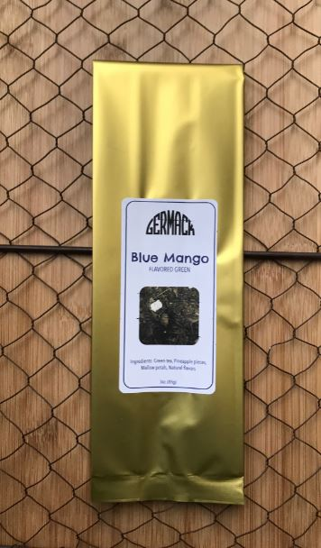 Picture Tea - Flavored Green Tea - Blue Mango - 3oz
